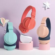 Kids Wireless Bluetooth Headphone Built in Mic  FM Radio and Micro SD Card Slot