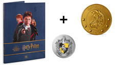 Pack Album Collector Médailles Monnaie de Paris Harry Potter 2021 + Poufsouffle