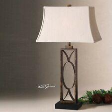 Uttermost Manicopa Table Lamp in Mottled Dark Bronze