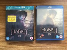 The Hobbit - An Unexpected Journey 3D (Blu-Ray) NEW Fast Post