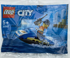 LEGO City - Police Water Scooter (30567) - Brand NEW & SEALED