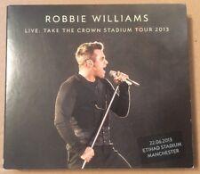 Robbie Williams Live: Take The Crown Stadium Tour 2013 Etihad Manchester 3 x Cd