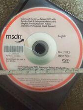 Microsoft Exchange Server 2007 ENTERPRISE w/ Service Pack 1 64-Bit Windows Key