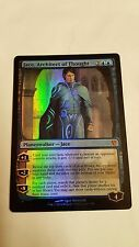 1x FOIL JACE, ARCHITECT OF THOUGHT - Duel Deck - MTG - NM - Magic The Gathering