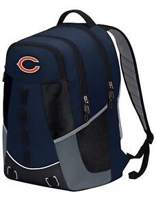 Chicago Bears Personnel Backpack Premium Full Size Brand New w/Tags