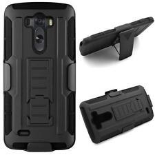 Rugged Armor Hybrid Hard Holster Shockproof Case Cover For LG G3 d850 Phone