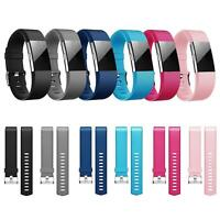 6x Fitbit Charge 2 Armband Ersatz Silikon Band Uhrenarmband Fitness Tracker