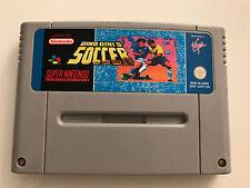 Super Nintendo SNES Spiel - DINO DINI´S SOCCER