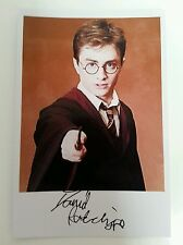 "HARRY POTTER - Harry Potter Daniel Radcliffe 6""X4"" Autograph Reproduction Photo"