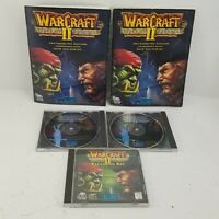 Warcraft II Tides of Darkness Blizzard Video Game NO BOX w/ Manual