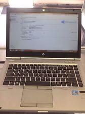 "HP EliteBook 8470p Laptop 14"" Intel i5 2.5GHz 4GB 500GB HDD Windows 8.1"
