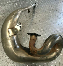 Yamaha WR200 Exhaust FMF Front Pipe  , Used Fits 1992-96 . Some dents / dings