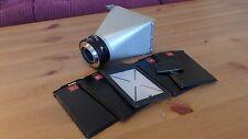 Vintage Vickers Microscope Polaroid film back wih shutter [Rare]