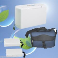 Portable Oxygen Concentrator Generator home traval car + Two battery Charging UK