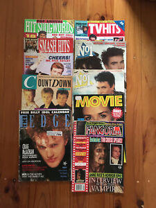 Smash Hits, Countdown, No1, Movie, Fangoria, selection of 80s and 90s Magazines