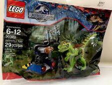 LEGO Jurassic World Gallimimus Trap Polybag (30320) Brand New & Sealed!