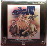"LD LASERDISC ""The Bridge On The River Kwai"" Extended Play Videodisc"