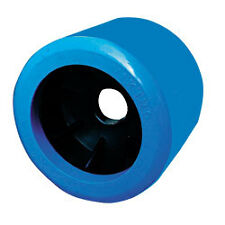 "1 x 4"" Smooth Blue Wobble Roller, 26mm Bore"