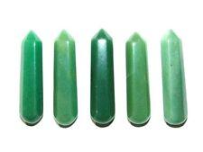 Zentron Crystals 60mm Green Aventurine Gemstone Massage Wand Chakra  Meditation