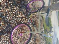 New Redline PL-26 Full Chromoly  with New Haro Wheelset