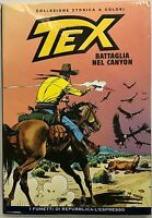 Tex Battaglia nel canyon collezione storica a colori n. 58 Repubblica L'Espresso