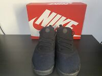NIKE MENS UK 10 EU 45 AIR PRESTO TRIPLE BLACK TRAINERS RUNNING RRP £105 C