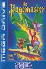 ## SEGA Mega Drive - The Pagemaster - komplett NEUWERTIG / MINT ##