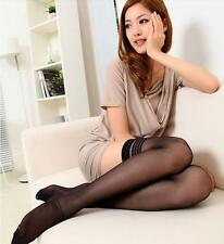 Women Sexy Black Lace Top Stay Up Fitness Thigh-Highs Tights Stocking Fancy Wear