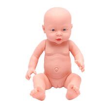 40cm Lifelike Soft Vinyl Girl Doll Reborn Baby Body For Newborn Nursing Practice