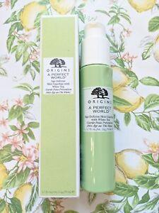 NIB Origins A Perfect World Age Defense Skin Guardian White Tea Serum 1.7 oz