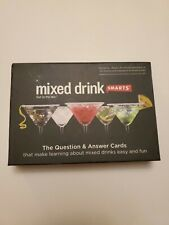 Mixed Drink Smarts Game - Opened Never Used