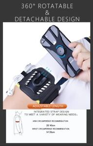 Universal Upgraded Armband Wrist Case For 4 To 6.5 Inch Phone Holder Gym Running