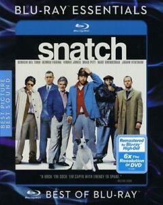 Snatch [New Blu-ray] Ac-3/Dolby Digital, Dolby, Dubbed, Repackaged, Su