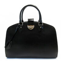 Auth Louis Vuitton Epi Electric Pont Neuf GM Handbag Black M59042 - h26500a