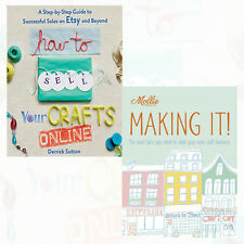 Crafts Various Collection (Mollie Makes: Making It!,How ) 2 Books Paperback