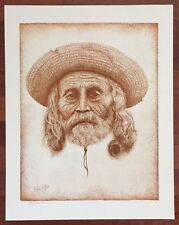 Western Theme. Southwest Man By Richard Peters LE Print 40/300 Signed 1980