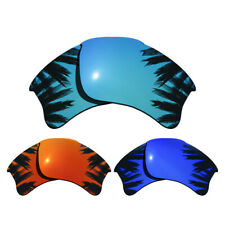 3 Pairs Purple&Blue&Red Replacement Lenses for-Oakley Flak Jacket XLJ Polarized