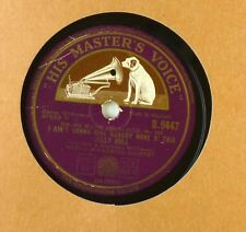 """10"""" Schelllack - Ladnier - Everybody / Nobody None Of This Jelly Roll - A90"""