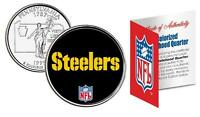 PITTSBURGH STEELERS *Officially Licensed* NFL Pennsylvania US State Quarter Coin