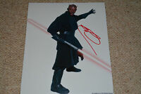 RAY PARK signed  Autogramm 20x25 cm In Person STAR WARS DARTH MAUL