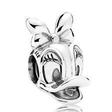 Authentic Pandora Charm Bead Disney Daisy Duck Portrait 792137