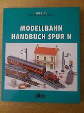 MODÉLISME FERROVIAIRE Handbuch PISTE N (spécial) par la Alba Verlag
