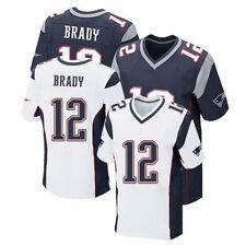 jjRugby Fußball Trikots NFL New England Patriots #12 Brady Sport Shirt Oberteile