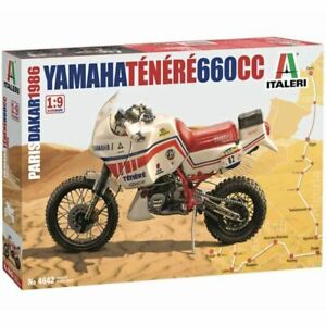Italeri 1/9 Yamaha Tenere 660cc (Paris Dakar 1986) Kit (New)