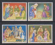 Jersey - 1998, Noël Cribs Ensemble - MNH - Sg 881/4