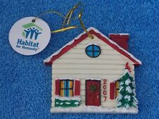 2007 Habitat For Humanity House Christmas Ornament