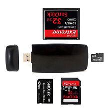 New USB 3.0 Media Flash Memory Card Reader Writer For Micro SD SDHC SDXC CF