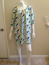 CYNTHIA STEFFE MULTICOLORED DRESS SIZE S M FITS SMALL & MEDIUM