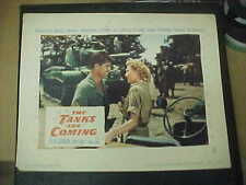 THE TANKS ARE COMING, orig 1951 LC #8 [Steve Cochran, Mari Aldon]