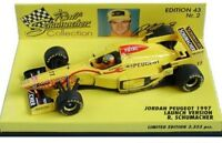 MINICHAMPS 1992 - 2002 Jordan EJR F1 model race cars Schumacher Sato Modena 1:43